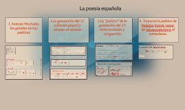 2016- La poesía española (1900-1939)