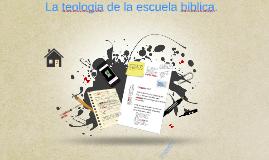 La teologia de la escuela dominical