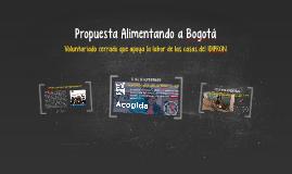 Propuesta Alimentando a Bogotá