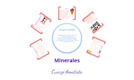 Minerales y Amatista