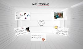 Miss Wainman