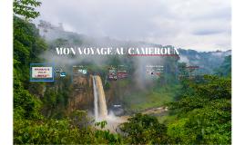 MON VOYAGE AU CAMEROUN