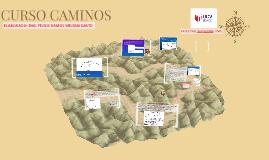 CURSO CAMINOS