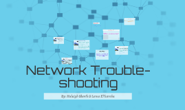 Network Trouble-shooting