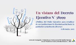 Decreto Ejecutivo N° 38999