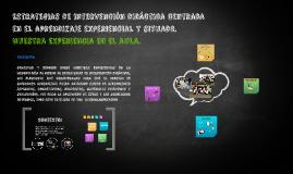 Copy of Estrategias de intervención didáctica centrada en el aprendi