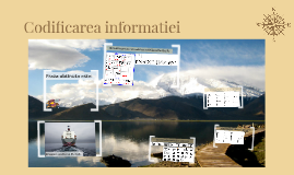 Codificarea informatiei