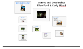 Games and Leadership