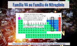 Família VA ou Família do Nitrogênio