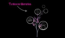 Textos No literarios.