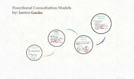 Functional Consultation Models