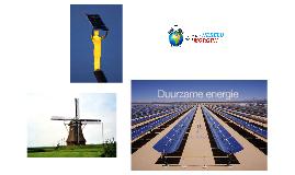 De feiten over duurzame energie