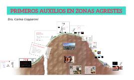 Copy of PRIMEROS AUXILIOS EN ZONAS AGRESTES