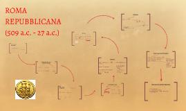 Copy of ROMA REPUBBLICANA (509 a.c. - 27 a.c.)