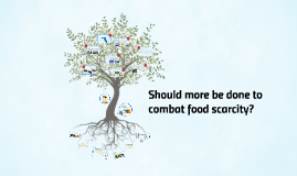 Should more be done to combat food scarcity?