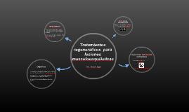 Tratamientos regenerativos disponibles en la actualidad para