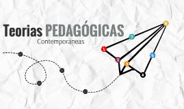 Teorias Pedagógicas Contemporáneas - UBC