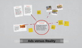 Ads Versus Reality- More Realistic