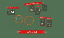 Copy of La Voluntad