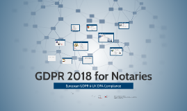 GDPR For Notaries