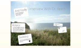 Copy of Interview With Dr. Reath
