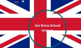The British School system