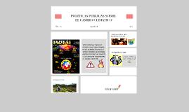 POLITICAS PUBLICAS SOBRE EL CAMBIO PUBLICITARIO