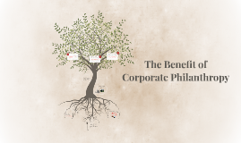 The Benefit of Corporate Philanthropy