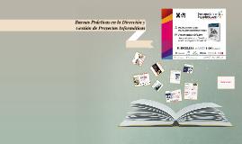 Buenas Practicas en la Direccion y Gestion de Proyectos Info