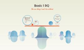 Basic 1 RQ