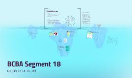 BCBA Segment 18