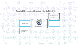 Special Olympics, Olmsted North 2015
