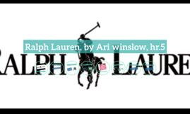 Ralph Lauren, by Ari winslow, hr.5