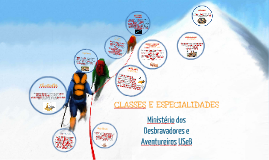 Classes e Especialidades