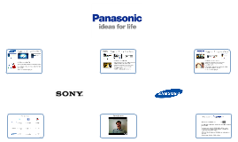 Copy of Copy of Panasonic, Sony & Samsung: A Social Media Comparison