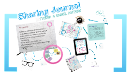 Sharing Journal: Autism
