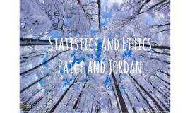 Statistics and Ethics
