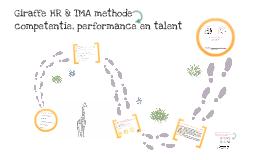 Giraffe HR & TMA methode > competentie, performance en talent