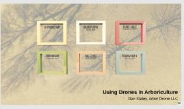 Using drones in Arboriculture
