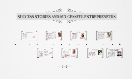 Copy of SUCCESS STORIES AND SUCCESSFUL ETREPRENEURS