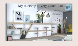 My intership in Very Good Plan