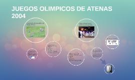 JUEGOS OLIMPICOS DE ATENAS 2004