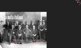 La mafia italiana