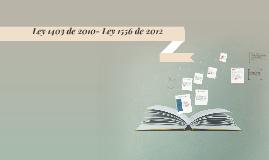 Ley 1403 de 2010
