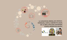 Copy of tesis sobre Violencia Animal - Por Diana Tano