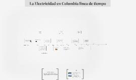 Copy of La Electricidad en Colombia