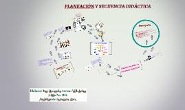 Copy of PLANEACIÓN Y SECUENCIA DIDÁCTICA