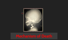 Mechanism of Death