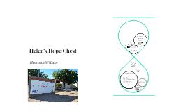 Helen's Hope Chest