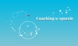 Coaching w sporcie
